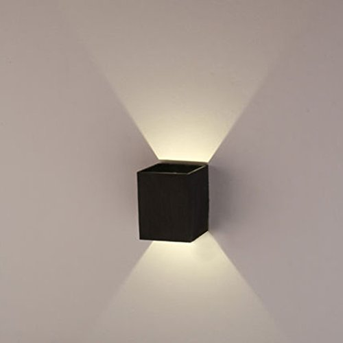 AGPtek 3W LED Wall Lamp Hall Porch Walkway Light Living Room Light Bedroom Lamp