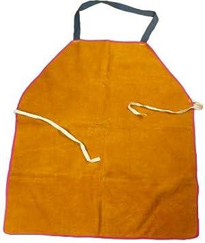 Welder Apron Welding Protective Gear Equipment Cowhide Leather Heat Insulation