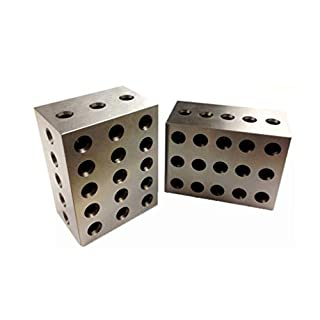 HHIP 3402-0906 2-3-4 Precision Block Set (23 Holes) (3402-0906)