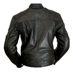 4LIMIT Sports Motorradjacke Leder Streetbandit Biker Rocker Gr/ö/ße S Schwarz