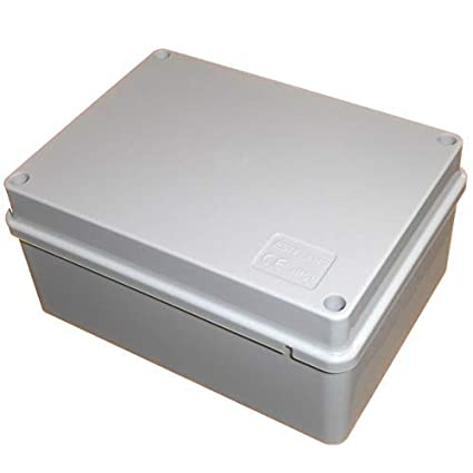 ABS box Small plastic enclosure with lid UK Seller