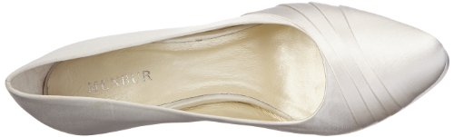 Donna Chiuse ivory 04 elfenbein Wedding Scarpe Amina Menbur Avorio wq4URW