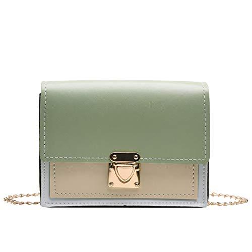 Women Leather Crossbody Shoulder Purse Chain Messenger Bag for Girls Split Fashion Clutch Women Fashion Shoulder Handbags