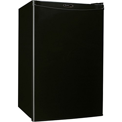 Danby DAR044A4BDD Compact All Refrigerator, 4.4 Cubic Feet, Black (Compact Fridge No Freezer)
