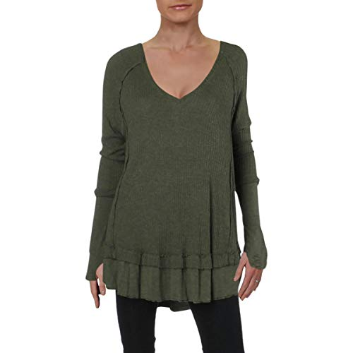 Free People Women's Laguna Thermal Moss Small
