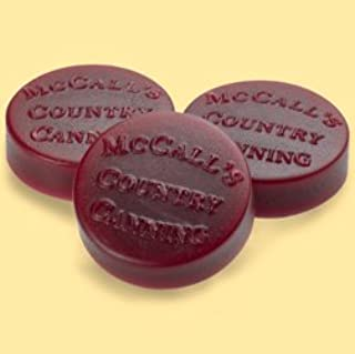 product image for McCall's Country Candles Wax Potpourri Button Set of 6 - Cinnamon & Cranberries