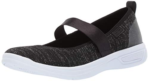 Black Kenneth Mary Cole Janes - Kenneth Cole REACTION The Ready Knit Ballet Sneaker Flat Black