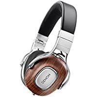 DENON AH-MM400EM MUSIC MANIAC over ear headphones 3 button remote / microphone with high-resolution sound source corresponding black