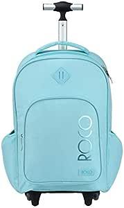 روكو حقيبة ظهر مدرسية  تروللي بعجلات مع مقلمة 18 انش
