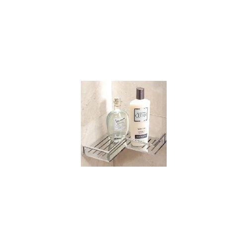 Ginger 28505/SN Surface Corner Shower Shelf, Satin Nickel - Brasstech Shelf