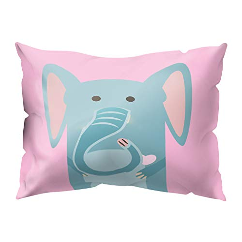 Winsummer Decorative Cute Pet Animal Throw Pillow Covers Cotton Polyester Cushion Cover Pillowcases Home Decor Halloween Thanksgiving Autumn Gift 12x20 Inch (Furniture Patio Donate)