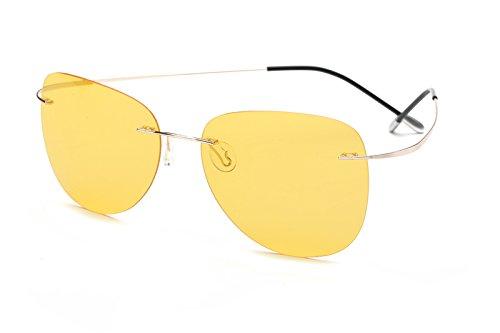 Monture sans ZP2117 Titane Lunettes C9 Lunettes Hommes Sunglasses Polaroid Silhouette Titanium Ultra Polarisées Léger Lunettes 100 nbsp; Polaroid TL qT1Pfw7S