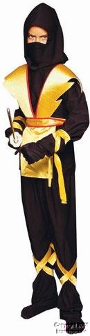 RG Costumes Ninja Master, Child Large/Size 12-14 -