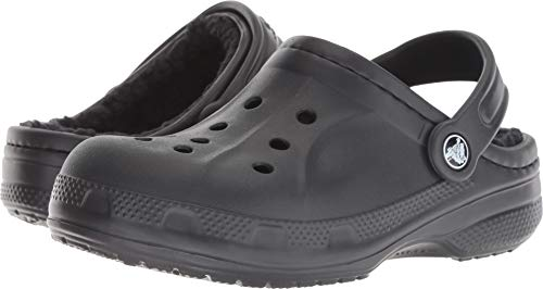 Crocs Kids Unisex Ralen Lined Clog (Toddler/Little Kid) Black/Black 3 M US Little Kid (Crocs Kids Clogs)