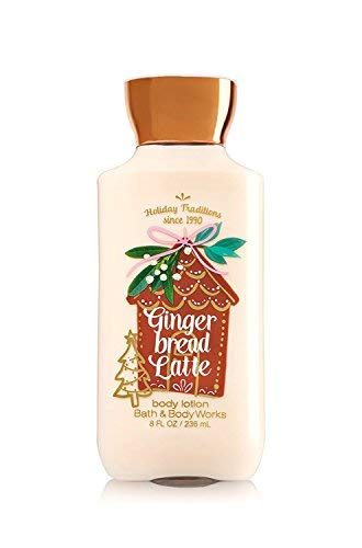Bath and Body Works Gingerbread Latte Body Lotion 8 ounce Full size (Gingerbread Latte Bath And Body Works 2017)