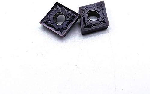 Hohe Qualität CNMG120404 CNMG120408 HA PC9030 Externe Drehwerkzeug Hartmetalleinsatz for Edelstahl Drehwerk (Farbe : CNMG120404 HA PC9030, Größe : 50PCS)