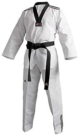 adidas Taekwondo Adi Club, 3 Stripes, Taekwondo Traje: Amazon.es ...