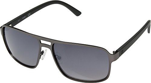 Guess Satin With smoke Flash Mens Gradient Lenses Gf0192 Light Gunmetal rZBqrgnEw