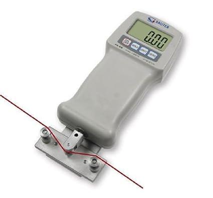Plage de mesure Sauter FK 100 Dynamom/ètre robuste pour mesures simples en traction et compression avec Fonction Peak-Hold Max : 0,04 N d : 100 N Lecture