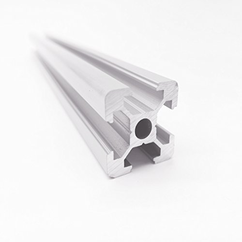 1pc 2020 500mm CNC 3D Printer Parts European Standard Anodized V-Slot Linear Rail Aluminum Profile Extrusion for DIY 3D printer