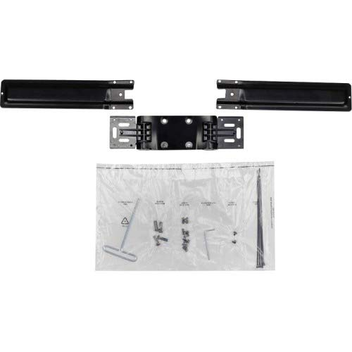 Ergotron 98-101-009 Mounting Component (Double hinged Bow) for 2 LCD displays - Black - Screen Size: up to 25 inch
