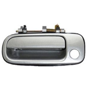 Eynpire 8057 Exterior Outside Outer Front Left Driver Side Door Handle For 1992 1993 1994 1995 1996 Toyota Camry SILVER ()