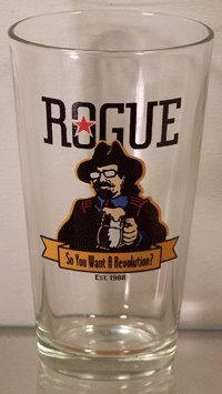 Rogue Brewery (Rogue Ales - So You Want A Revolution Pint Glass Set)