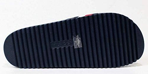 サンダル メンズ サンダル ビーチサンダル シャワーサンダル ラバー サンダル (DARK BLUE) RIKER [並行輸入品]