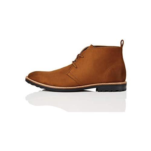 chollos oferta descuentos barato FIND Boots Botas Chukka Marrón Tan 45 EU