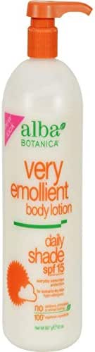 Body Lotions: Alba Botanica Very Emollient Daily Shade