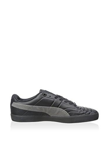 Puma Hombres Tech Sala 76 Urban Fair Isle Sneaker, Negro / Gárgola, 8 M