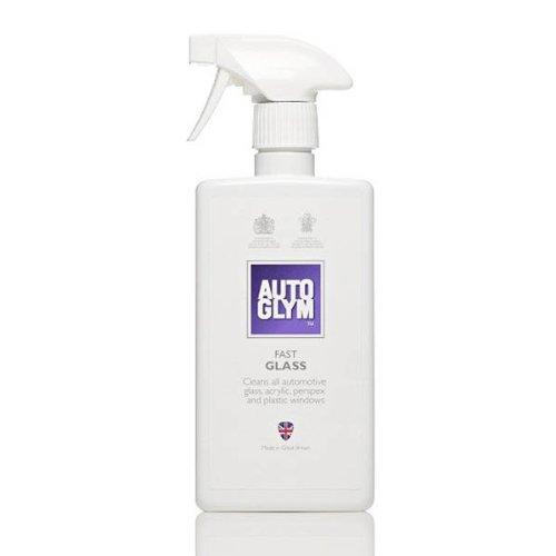 Autoglym Fast Glass Kit complet de nettoyage pour vitres de voiture avec chiffon en microfibre
