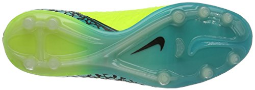 Scarpe Da Calcio Nike Mens Hypervenom Phinish (fg) Giallo (volt / Black-hyper Turq-clear Jade)