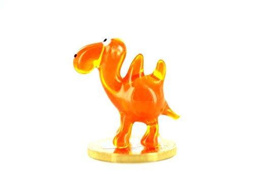 Mini Orange de Chameau Verre Animaux de K de 6