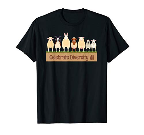 Sheep Breed Apparel   Cute Gift for Farm Animal Pet Owners T-Shirt
