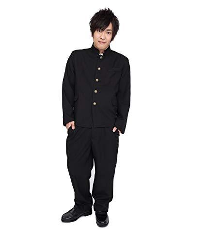 PATYMO Japanese High School Student Uniform Costume, Black, Men's Standard Size