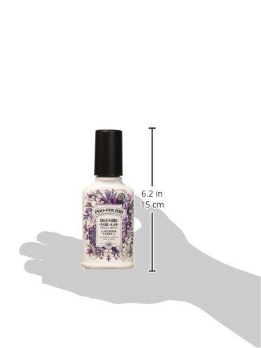 Poo-Pourri Go Toilet Spray 4 oz Bottle, Lavender Vanilla Scent