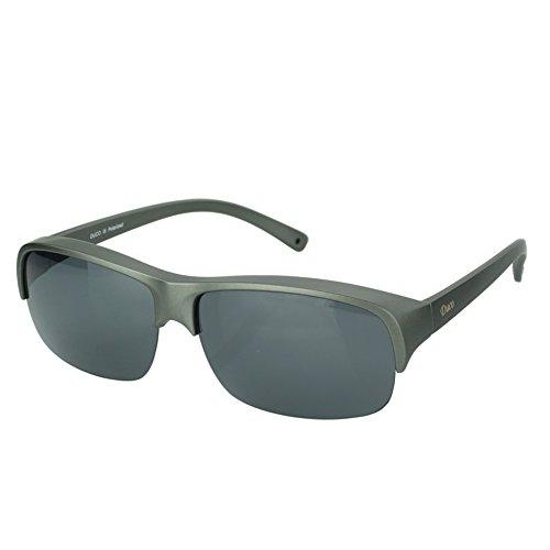 Frame sol Lens Height de Gray Duco para Gunmetal Lens Gafas 40mm mujer q6FYwEf