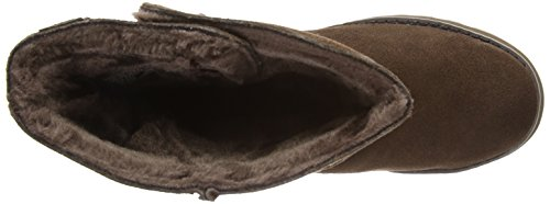 Freezing Blk Keepsakes Temps Donna 47221 Rosso Skechers Stivali cognac qSgU5Cx5w