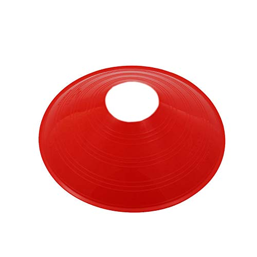 Tuweep 360 Athletics Saucer Cone Marker, 7, Red