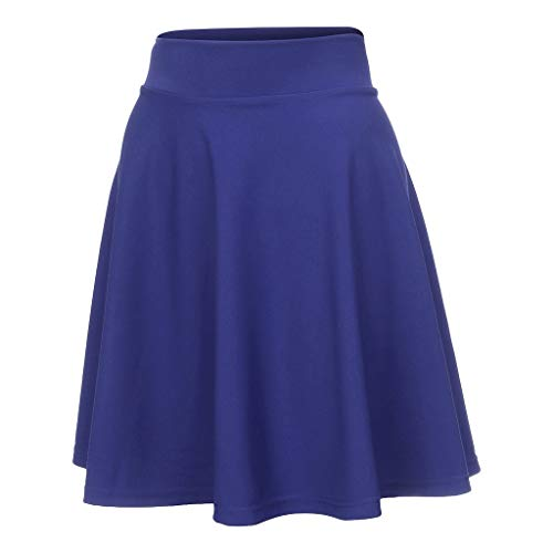 AHAYAKU Fashion Women Summer Solid Pleated Skirts Sexy High Waist Mini Short Skirts Blue Boston Red Sox Girls Mini