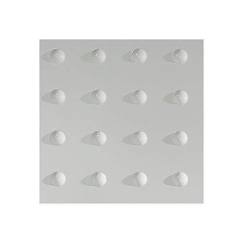 Panels Mdf Decorative (Fasade - Dome Gloss White Decorative Wall Panel - Fast and Easy Installation (12