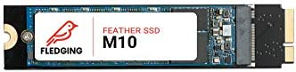 Fledging 512GB Feather M10 SATA 3 SSD Upgrade – DIY equipment & OS Included – Compatible with Apple MacE-book Air 2010-2011