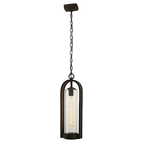 Minka Lavery Outdoor Pendant Lighting 72454-143C Kamstra, 1-Light 60 Watts, Oil Rubbed Bronze