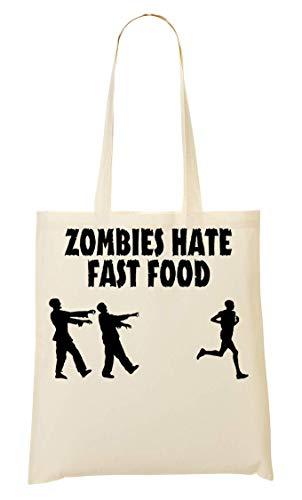Bolsa Food Hate Compra Ams De Bolso Mano Zombies Fast La w0HHqBS7