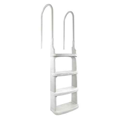 Easy-Incline Above Ground Pool Ladder