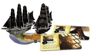 Wiz Kids Pirates of The Caribbean Pocket Model 3-D Game