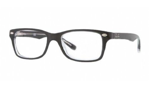 Ray Ban Junior RY1531 Eyeglasses-3529 Top Black On Transparent-46mm