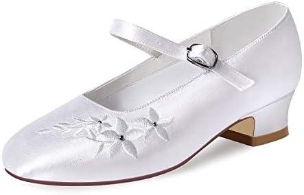 ERIJUNOR E1417 White Communion Shoes