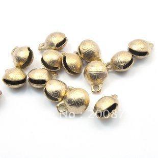1 Lot of NBB337 Nepal brass small lovely bells 2#,Dia 14,100